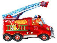 Fóliový balón požiarnicke auto