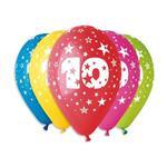 Balóny s číslom 10 Hviezdy