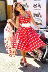 Kostým retro šaty M