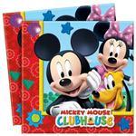 Servítky Mickey Clubhouse