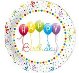 "Papierové taniere ""Happy Birthday """