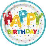 Tanierik veľký Happy birthday