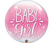 Fóliový balón Baby girl bubless 55 cm