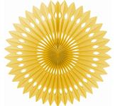 Dekoratívna rozeta 40 cm zlatá