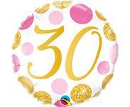 Fóliový balón č. 30
