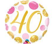 Fóliový balón č. 40