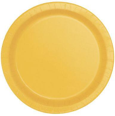 Tanierik veľký žltý 16 ks