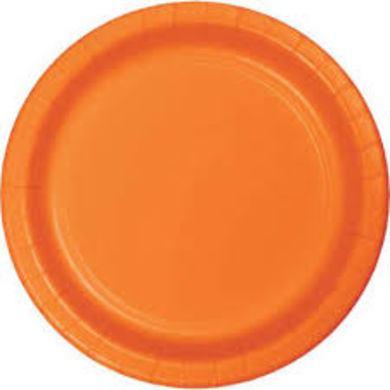 Tanierik veľký oranžový 16 ks