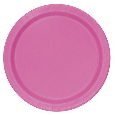 Tanierik veľký hot pink 16 ks