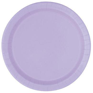 Tanierik veľký levandulový 16 ks