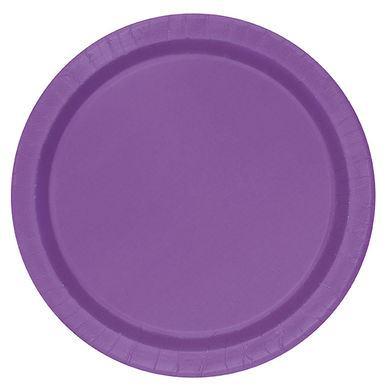 Tanierik veľký fialový 16 ks