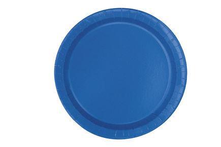 Tanierik veľký modrý 16 ks