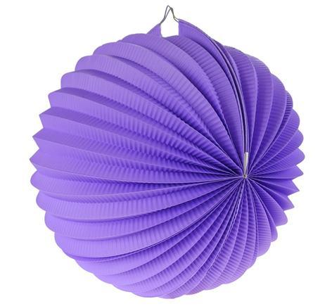 Lampión fialový