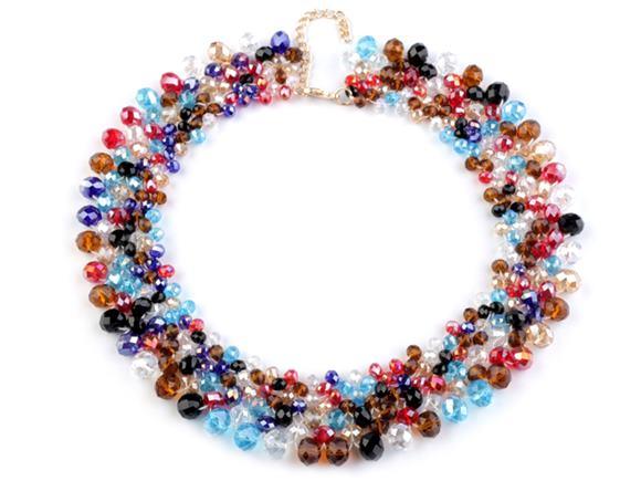 Farebný náhrdelník