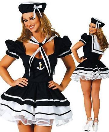 Kostým námorníčka S