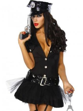 Kostým policajtka S