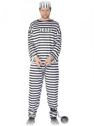 Kostým väzeň S
