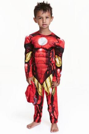 kostýmy Iron mana