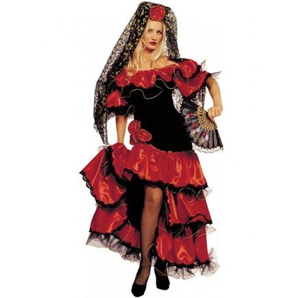 Kostým flamengo tanečnice L