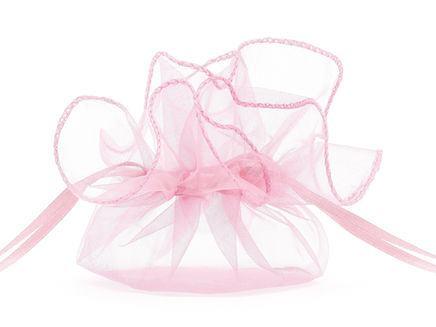 Darčekové vrecúško ružové