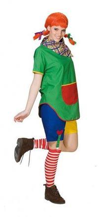 Kostým Pipi dlhá pančucha S