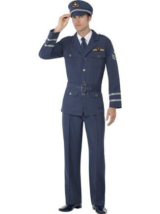 Kostým pilotný kapitán L