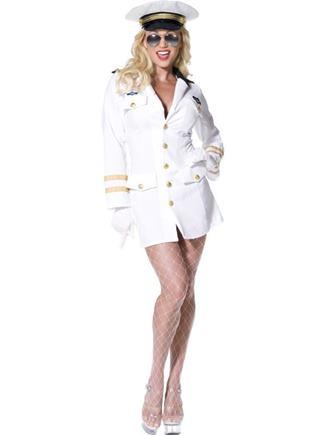 Kostým námorníčka biela M/L