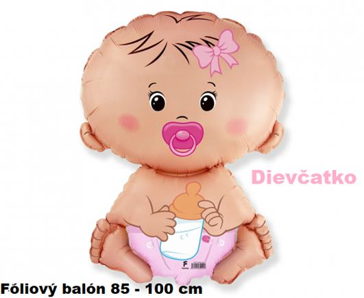 Fóliový balón bábätko