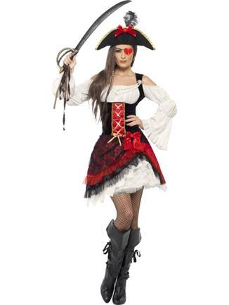 Kostým pirátka S