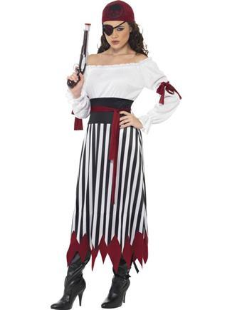 Kostým pirátka S/M