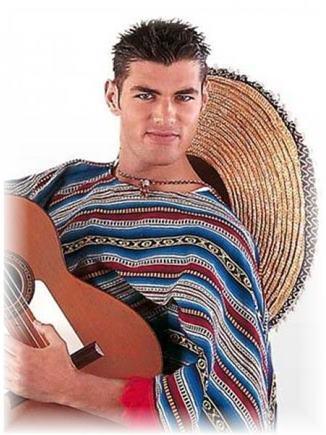 Kostým Mexičan XL