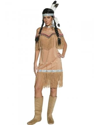 Kostým indiánka M
