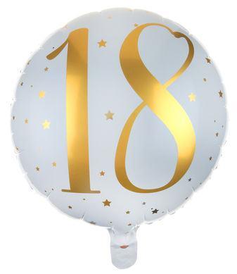 Fóliový balón 18 rokov