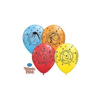 Balóny Macko Pú Abeceda