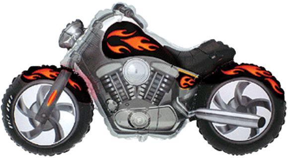 Fóliový balón motorka