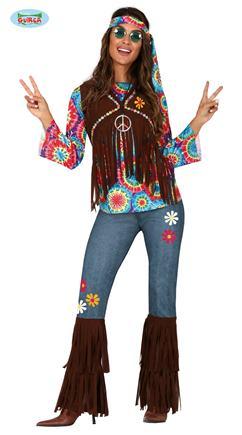 Kostým veselá hipisáčka S