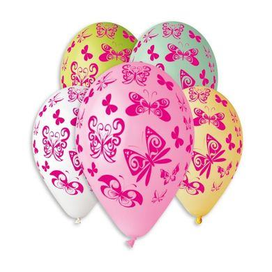 Balóny Motýle 5 ks