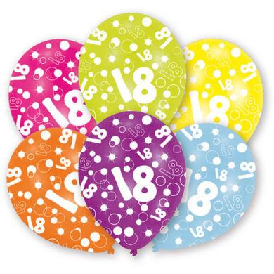"Latexové balóny ""18"" multi"