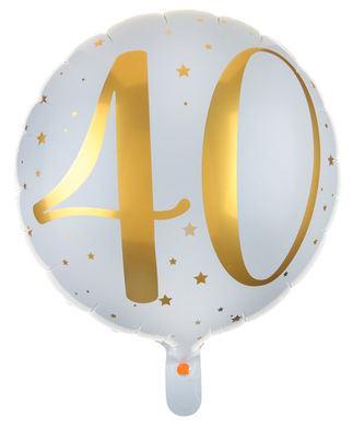 """Fóliový balón """"40 rokov"""