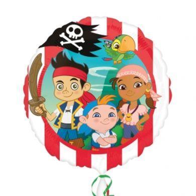 Fóliový balón Jake a piráti