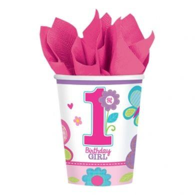Pohárik 1.narodeniny B-day Girl
