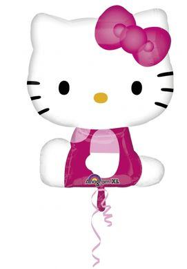 Fóliový balón Hello Kitty supershape