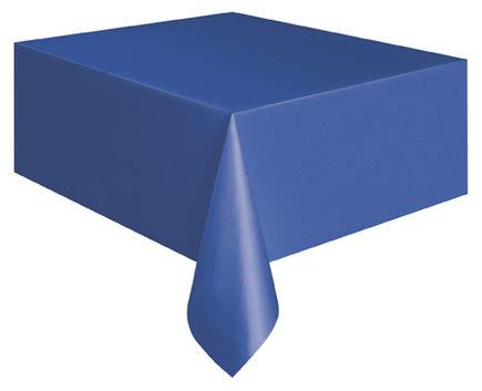Obrus plastový modrý