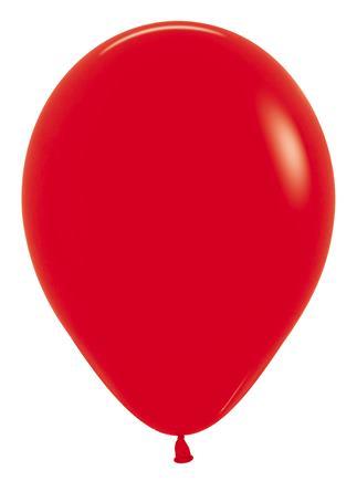 Latexový balón červený