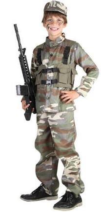 kostým vojak