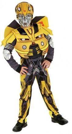 kostým transformer žltý