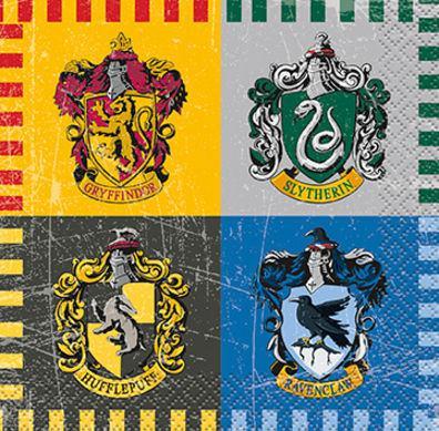 Servítky malé Harry Potter
