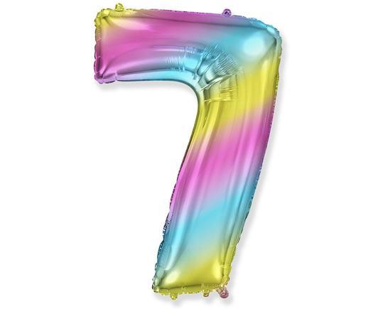 Dúhový balón č. 7