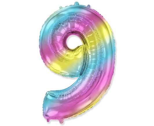 Dúhový balón č. 9