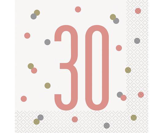Servítky 30. narodeniny